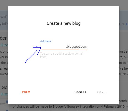 create free blogger blog in Tamil